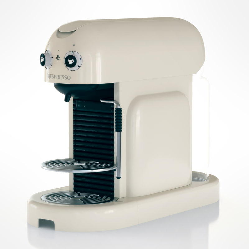 nespresso delonghi en 450 3d model