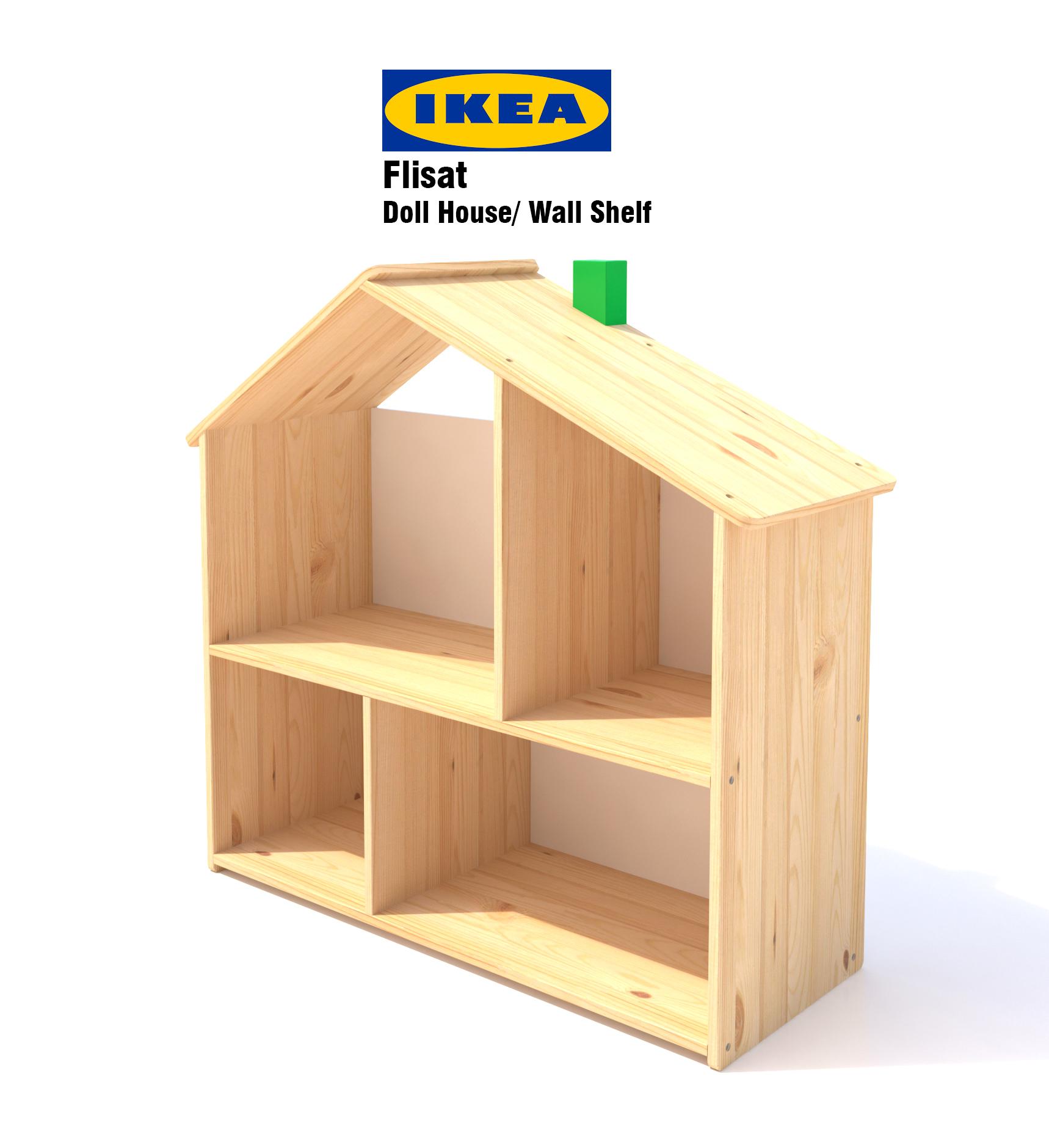 Ikea Flisat Doll House Shelf