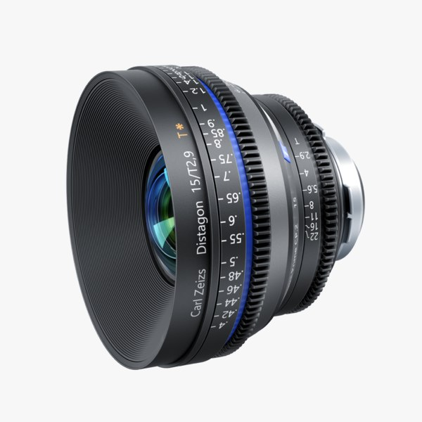 3d camera lens distagon