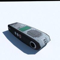 3d model dictator phone