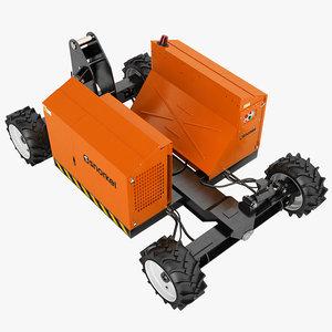 snorkel sl26sl chassis 3d obj