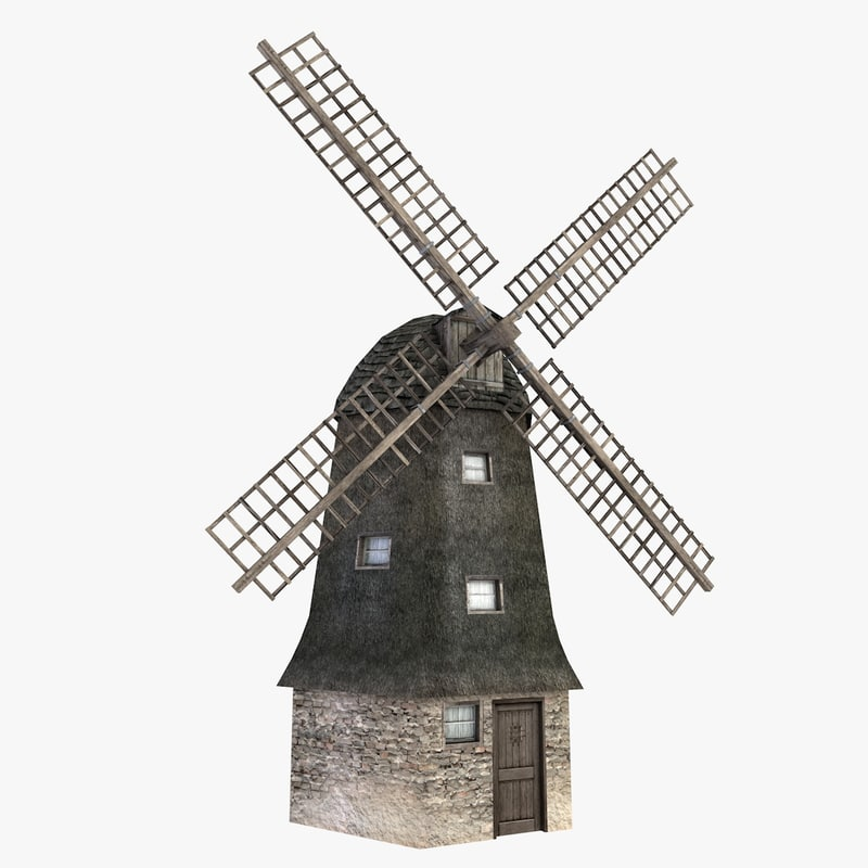 3ds windmill