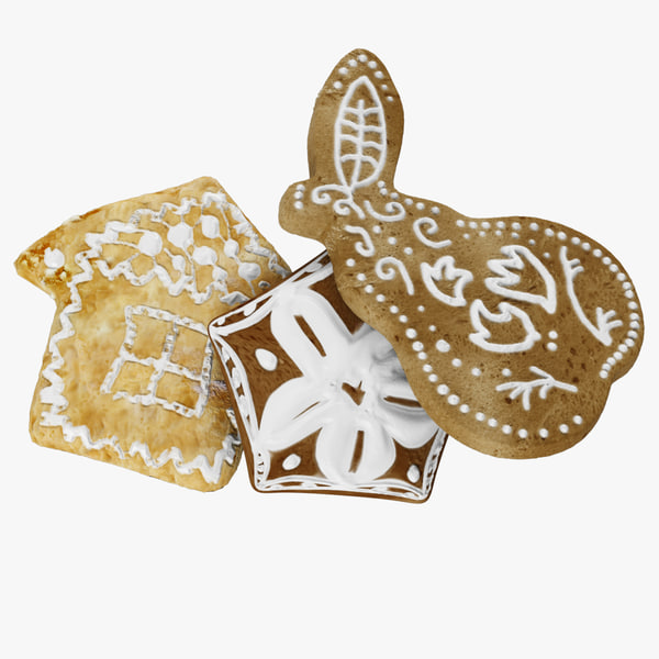 3d cookie gingerbread