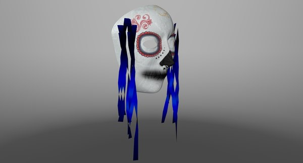 faces mask 3d obj