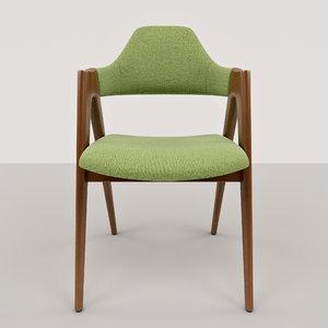 3d model compass chairs kai kristiansen
