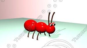 3d model of ant