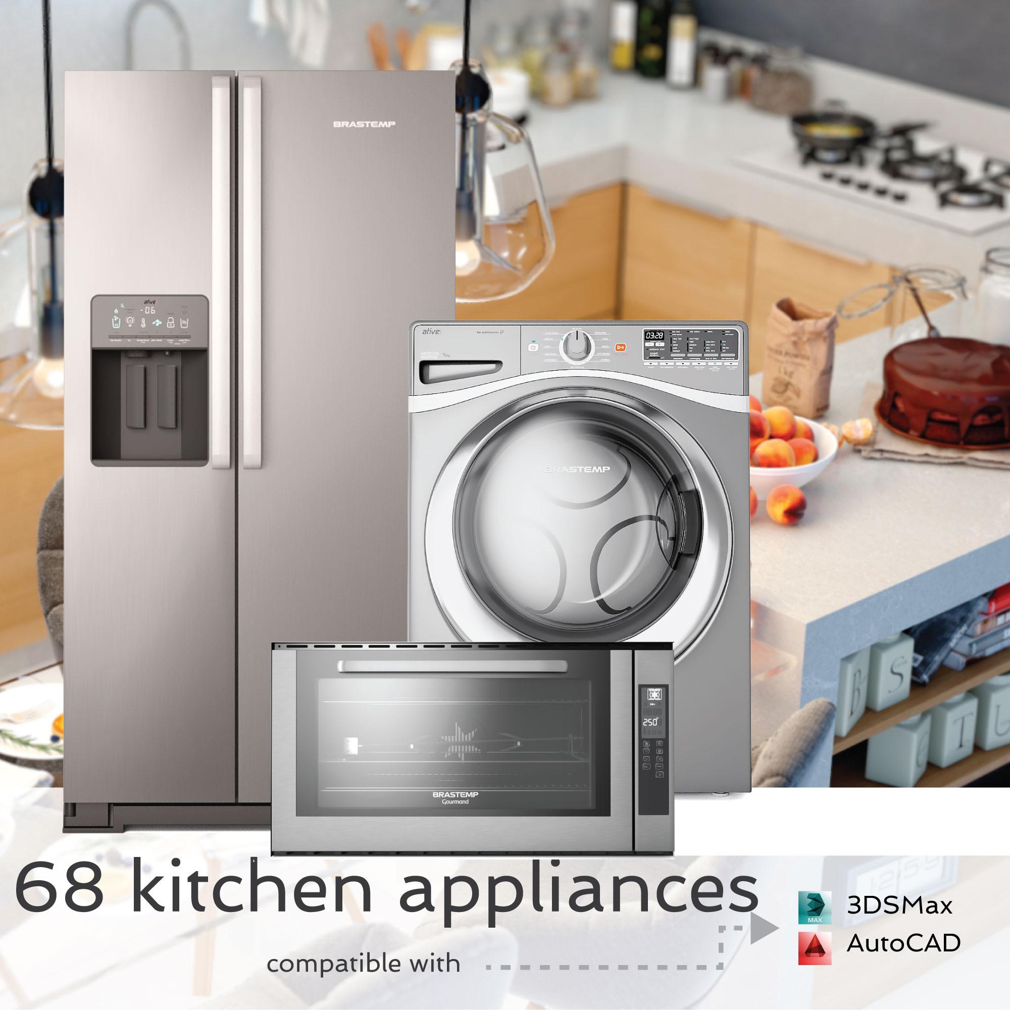 Uncategorized Quality Kitchen Appliances appliances 68 max high quality kitchen vray