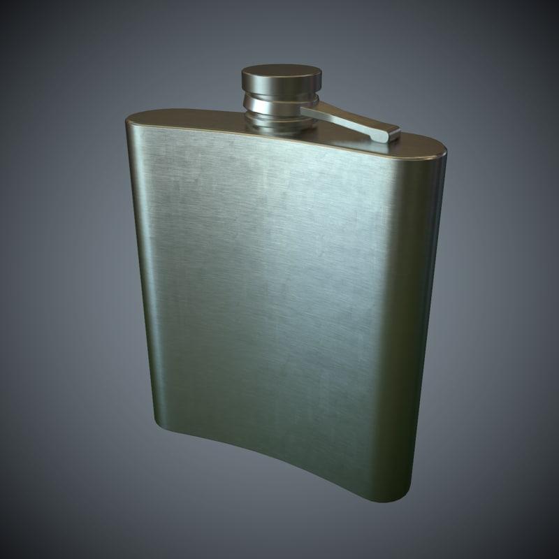 3d pocket bottle pbr games