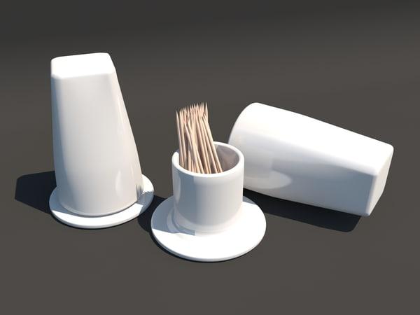stand tuthpick 3d model