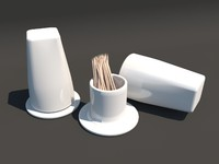 stand tuthpick 3d model