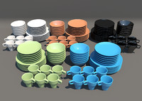 3d crockery ikea
