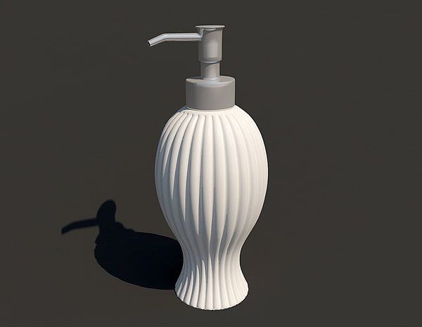 dispenser liquid soap 3d model