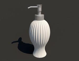 dispenser liquid soap 3d model