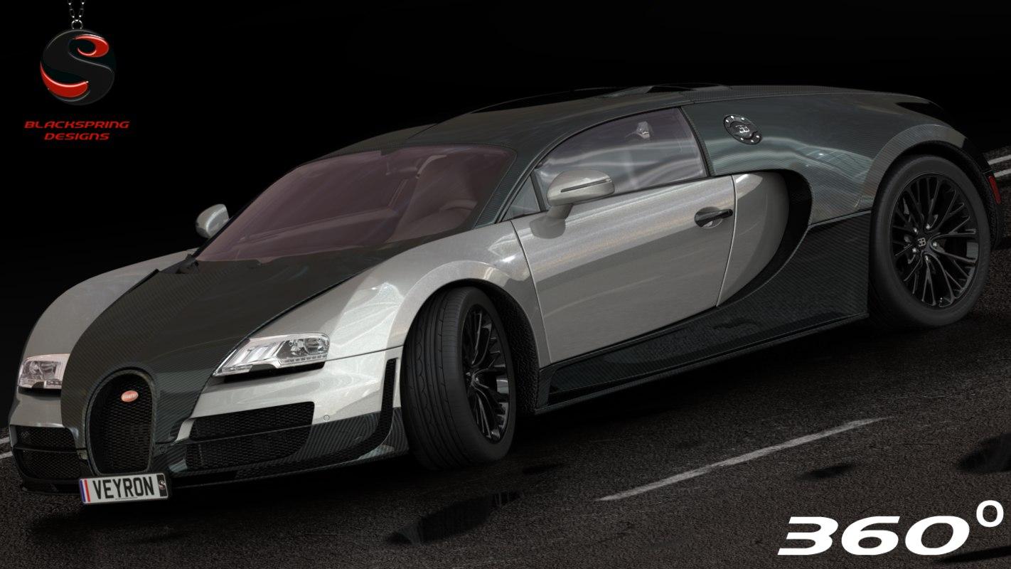 max bugatti veyron supersport 2010