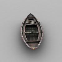 3d old boat 2