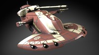 3d max star wars aat