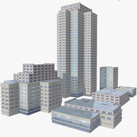 Modern City Buildings Pack