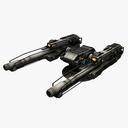 science fiction cannon 3D models