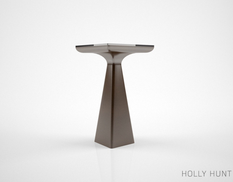 holly hunt goblet table 3d max
