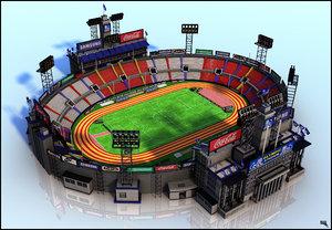 3d olympic stadium