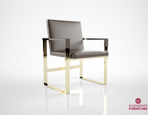 hudson mika chair 3d model
