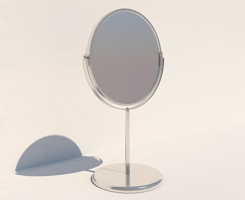 mirror makeup 3d model