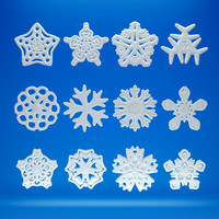 snowflakes 3ds