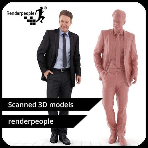 free photorealistic human dennis 0263 3d model