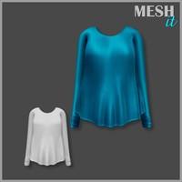 sweatshirt blue 3ds
