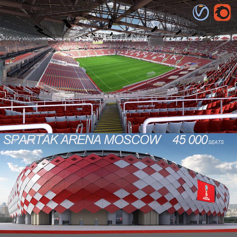 spartak stadium football max