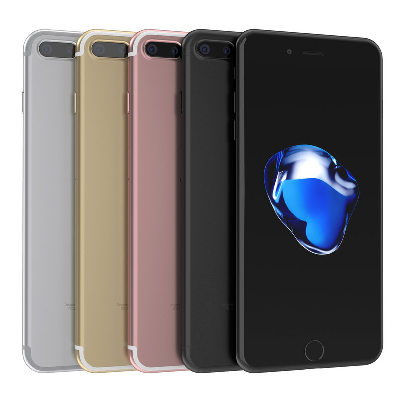 3d apple iphone 7 model