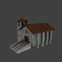 medieval church 3ds