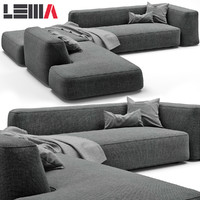 3d lemamobili cloud sofa
