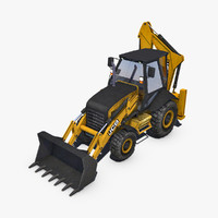 3d loader backhoe