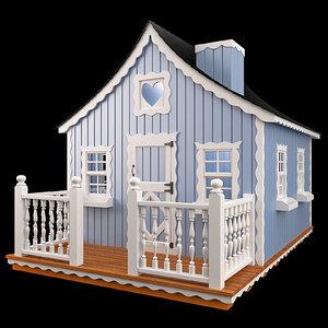 3d model children s lodge