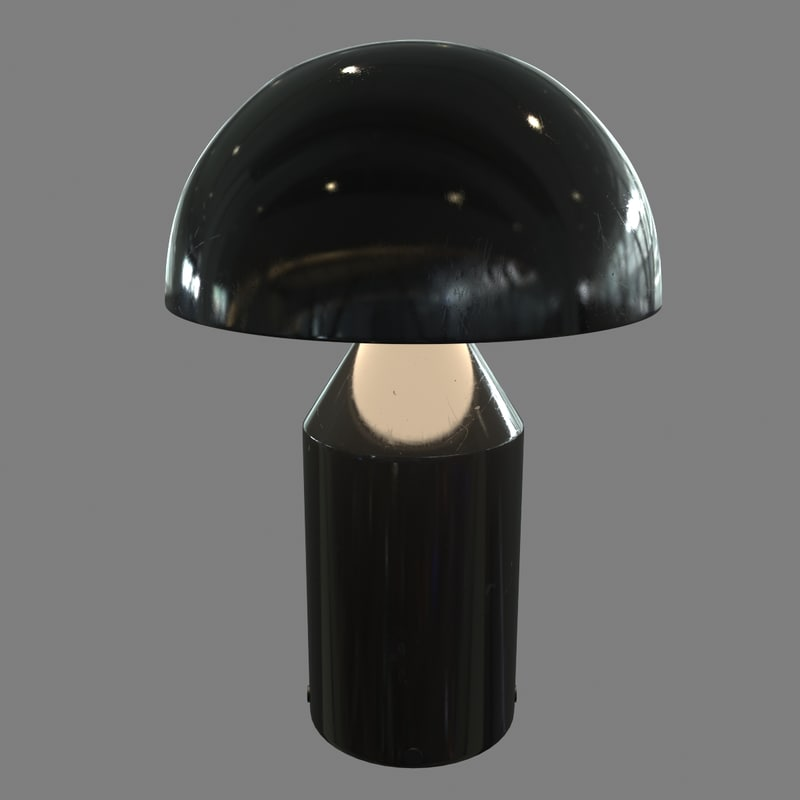 3d atollo lamp