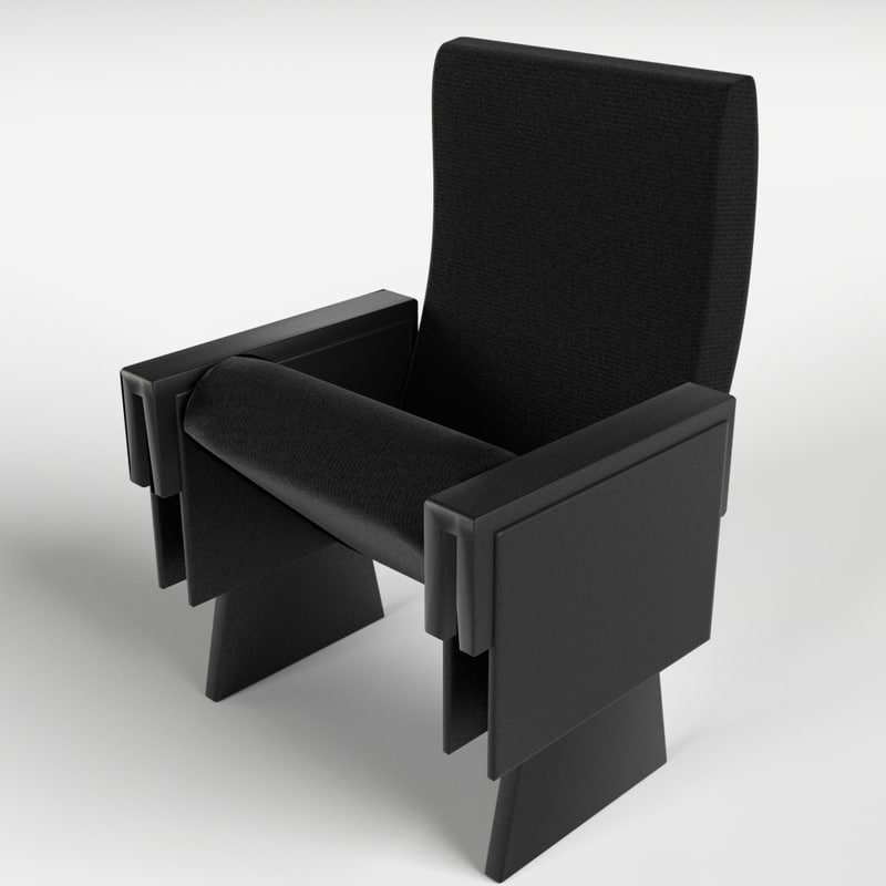 3d theater armchair 1