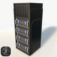 server rack 3ds