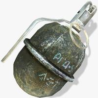 RGD-5 Hand Grenade
