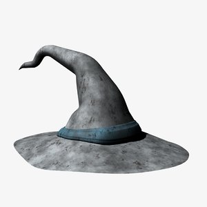 3d model of wizard hat