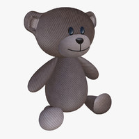 3d model of teddy bear