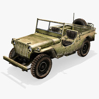 3d willys jeep model