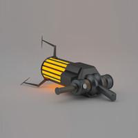 gravity gun 3d max