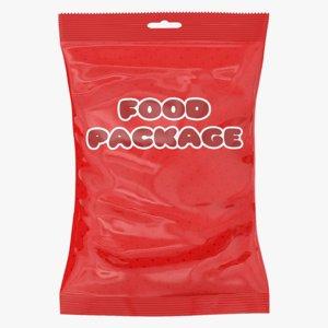 food pack 3d max