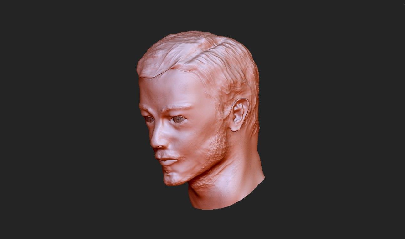 3d zbrush portrait