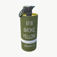 3d m18 smoke grenade -