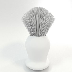 3ds barbers brush