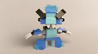 lego mixels chilbo 3d model