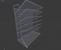 3d model office file holder