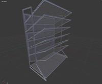3d model office file holder